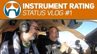 Mostly not SCREWING UP radio work - TBM 850 - IFR Status VLOG #1