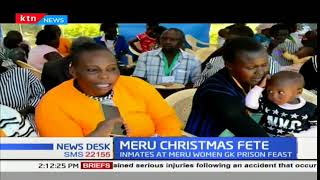 Christmas feast for inmates in the Meru women G.K prison