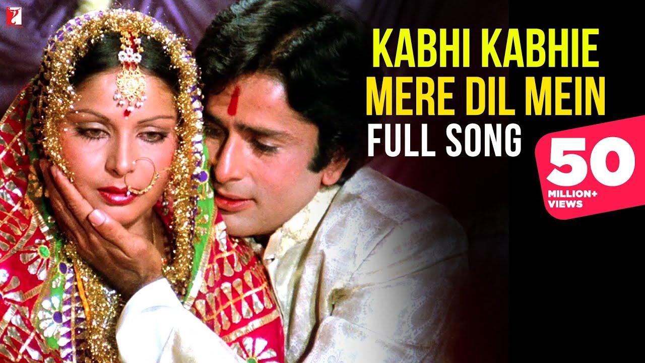 Kabhi Kabhi Lyrics English Translation