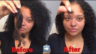 RICE WATER FOR HAIR SHEDDING? BEFORE AND AFTER!