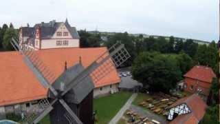 preview picture of video 'Burg Lichtenberg und Windmühle Salder'