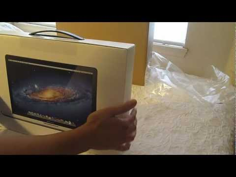 2011 Fall Macbook Pro Unboxing MD318LL/A 15.4-Inch Notebook