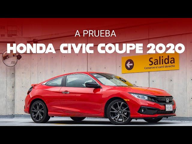 Honda Civic Coupé 2020, a prueba: El último samurái que mantenía vivo a un segmento se despide
