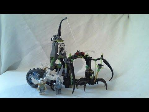 Vidéo LEGO Chima 70133 : La grotte de Spinlyn