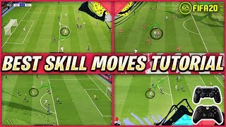 FIFA 20 MOST EFFECTIVE SKILLS TUTORIAL - BEST SKILL MOVES TO USE IN DIVISION RIVALS & FUTCHAMPIONS