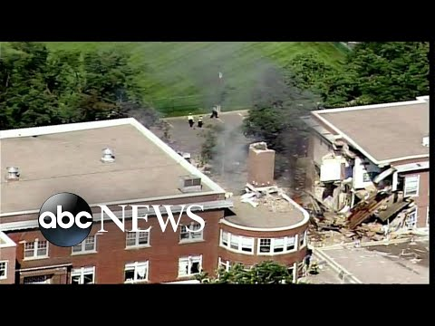 Deadly Minneapolis explosion rips school in half