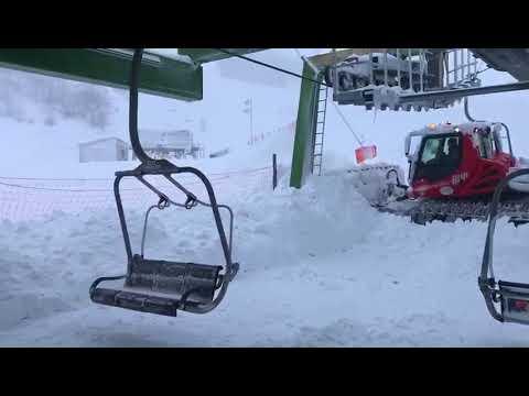 OVINDOLI: tantissima neve nelle località sciistiche d'Abruzzo [VIDEO]