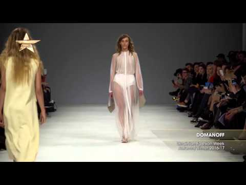 Показ - DOMANOFF, Ukrainian Fashion Week Осень-Зима 2016-17