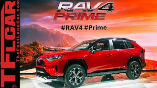 The 2021 Toyota RAV4 Prime Has Over 300 Horsepower AND Gets 90 MPGe!