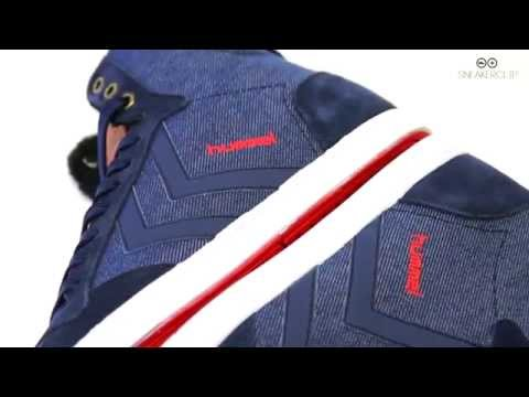 HUMMEL SLIM STADIL DENIM HIGH - Schuhdealer Sneakerclip