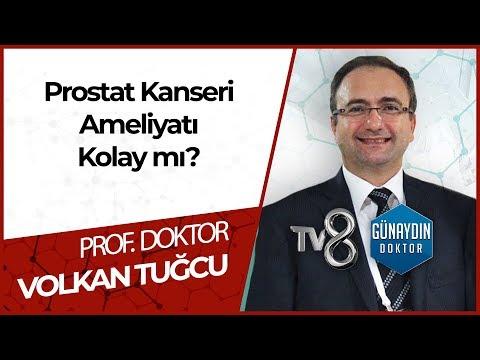 Prostat Kanseri Ameliyatı -