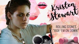 "KRISTEN STEWART TUTORIAL | ""Ride 'Em On Down"" Rolling Stones Video"