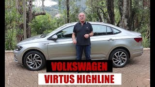 Volkswagen Virtus Highline 200 TSI - Teste do Emilio Camanzi