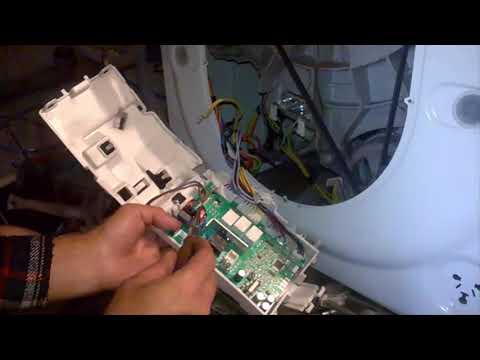 Zanussi и Electrolux, ремонт модуля управления. Почему стиральная машина не греет воду