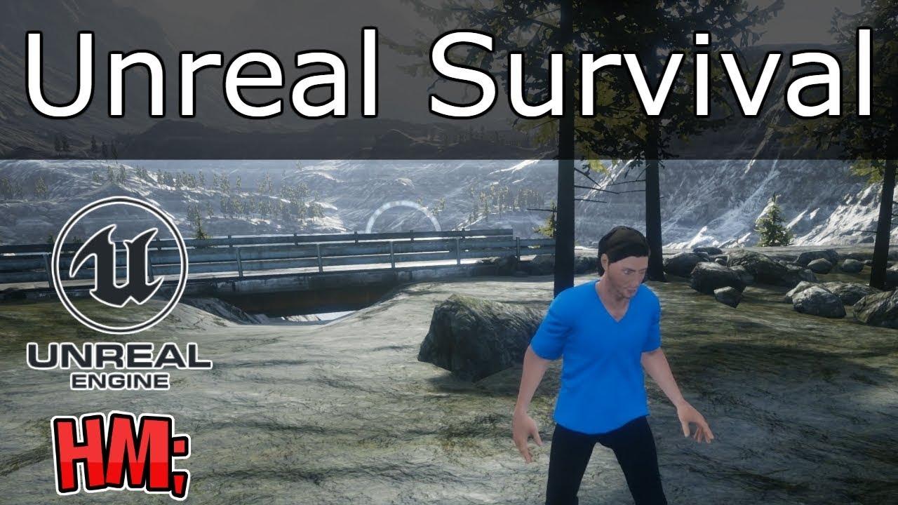 🎓 Tutorial Unreal Engine 4 Español Videojuego Survival | #1 Introduccion, Landscape y Personaje