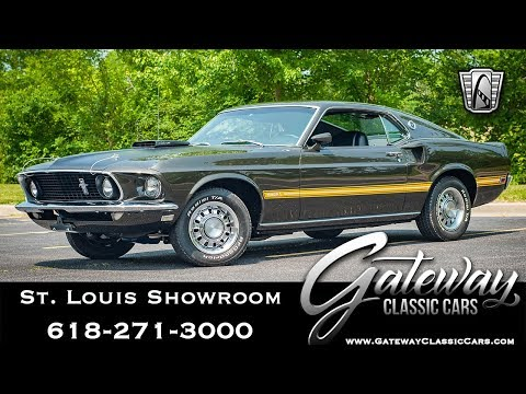 Video of '69 Ford Mustang located in Illinois - $97,500.00 Offered by Gateway Classic Cars - St. Louis - QBA2