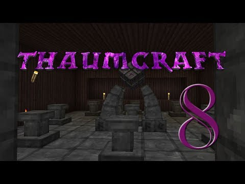 Lets Play Minecraft Thaumcraft 6 ep 15 - The Golem Press