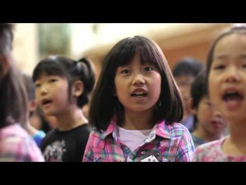 『天主閣』20151014松山市立番町小学校