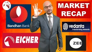 BANDHAN BANK SHARE PRICE | VEDL | Daily Market Recap | Hindi