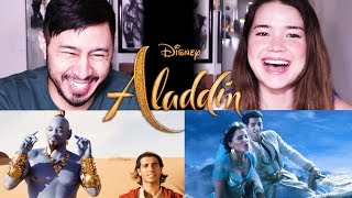 ALADDIN | Official Trailer Reaction!