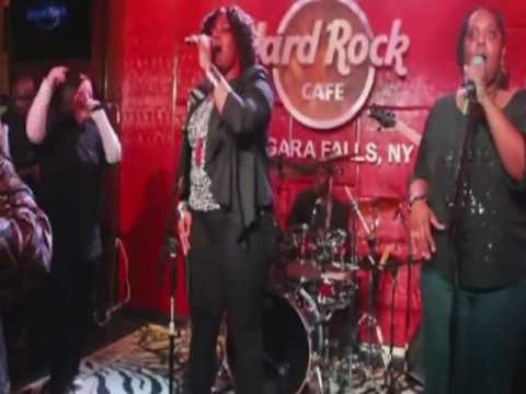 REIGN at Hard Rock Cafe 11/23/2012 Performing a Rihanna cover song to Diamonds In The Sky