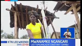Constant Kambu ajiajiri kwa kuuza miwa I Mwanamke Ngangari