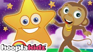 Twinkle Twinkle Little Star | Popular Nursery Rhymes Songs | HooplaKidz