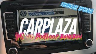 VW RNS 510 Navi Bootloop | How to: Firmware-Update auf Josi (5274) | CARPLAZA