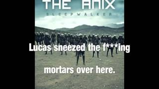 "The Anix - ""Long Way Out"" Backwards with lyrics"