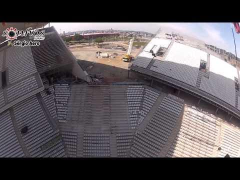 Vôo na Arena Corinthians - 30/03/2013