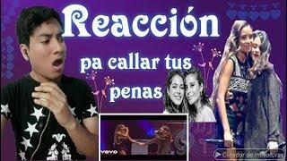 CAMI, TINI   Pa' Callar Tus Penas (Live) REACCION