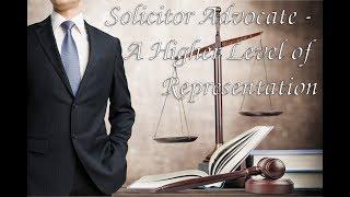 Colin Nasir: Solicitor Advocate - A Higher Level of Representation