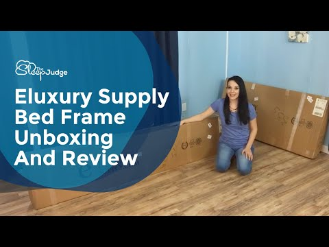 Eluxury Supply Bed Frame Unboxing And Review