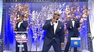 Wanya Morris & Boyz II Men Performed On #100WeddingsGMA #DWTS
