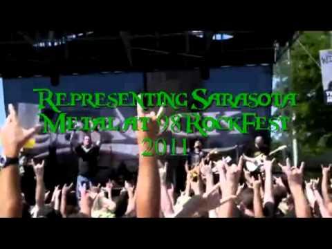 Barrelhead Representing Sarasota Metal at 98RockFest 2011