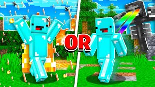 Skeppy vs EXTREME Minecraft Would You Rather! - Challenge