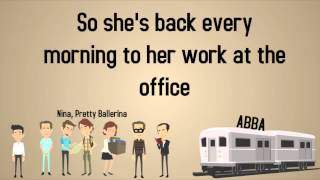 ABBA - Nina, Pretty Ballerina - Lyrics