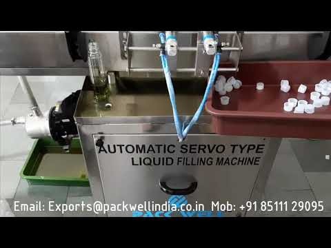 Automatic shampoo bottle filling machine