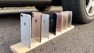 Many iPhones vs CAR