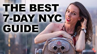 The Ultimate 7-Day New York City Itinerary | A guide to planning your trip