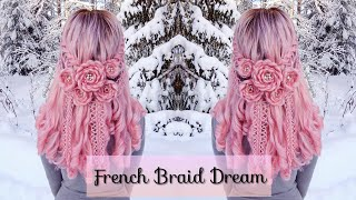 French Braid Dream | Pink Wig Hairstyles | How To Hair