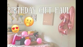 My 21st Birthday Gifts: Haul