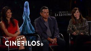 """Entrevista con los protagonistas de """"La Maldición de la Llorona"""""""