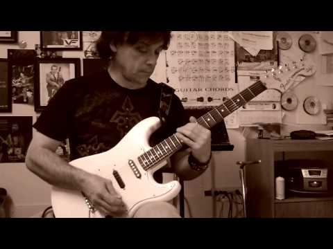Milt Gore-D minor String Skipping Arpeggio Pattern
