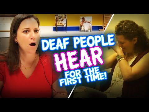 Beautiful Reactions of People Hearing For The First Time
