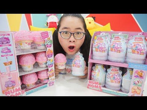 Num Noms Lọ Trang Điểm Bí Ẩn vs Hộp Kem Ngọt Ngào   Mystery Makeup - Ice Cream