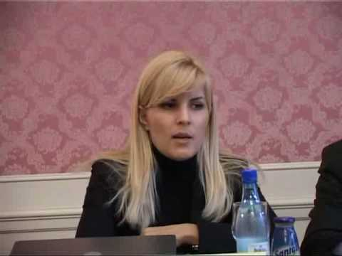 Elena Udrea la Sinaia