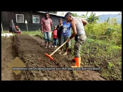 Binmas Noken Bersama Masyarakat Kelompok Tani Pada Spot Pertanian Kampung Lantipo