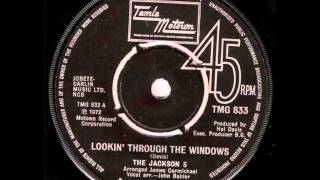 The Jackson 5.     Lookin' Through The Windows.  1972