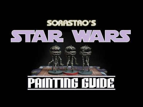 Sorastro's Star Wars Imperial Assault Painting Guide Ep.2: Probe Droids